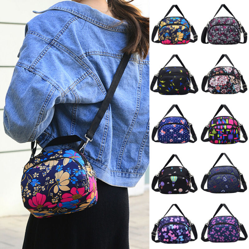 New Fashion Nylon Cross Body Bag Ladies 2019 Shoulder Handbag Purse Women Messenger Tote