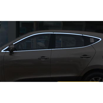 Apply only for 09-19 new Hyundai Ix35 window stainless steel stripe decorative