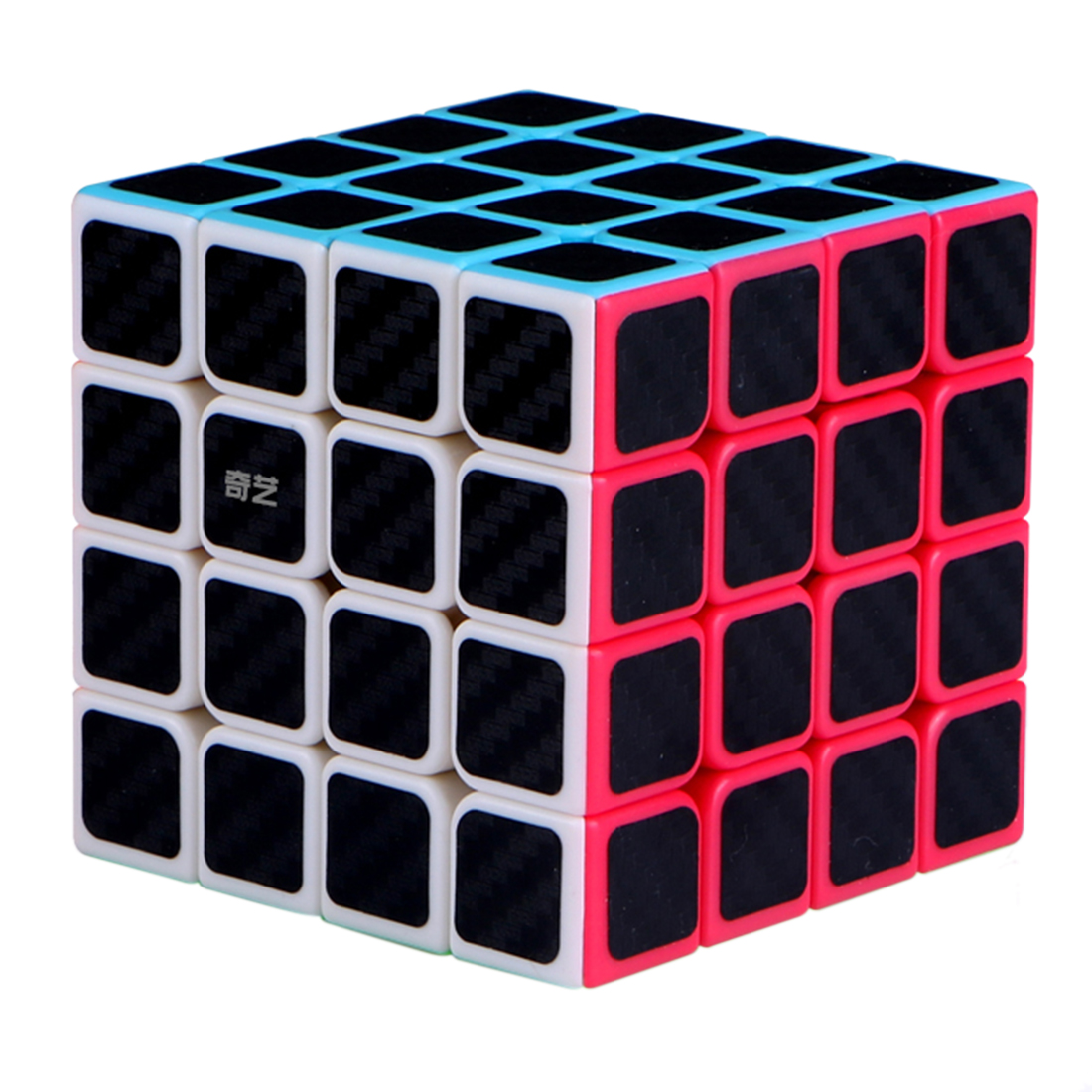 Surwish <font><b>Qiyi</b></font> <font><b>Qiyuan</b></font> <font><b>S</b></font> <font><b>4x4</b></font> Stickered Version Magic Cube Speed Cubes Puzzles Toys 2019 new arrival image