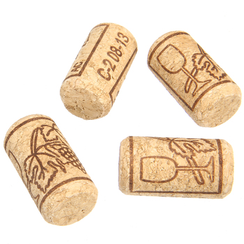 100 Uds DIY botella de sellado tapón suave tapones de corcho de vino tinto tapón para botella de Champagne para botellas de vidrio Bar herramientas