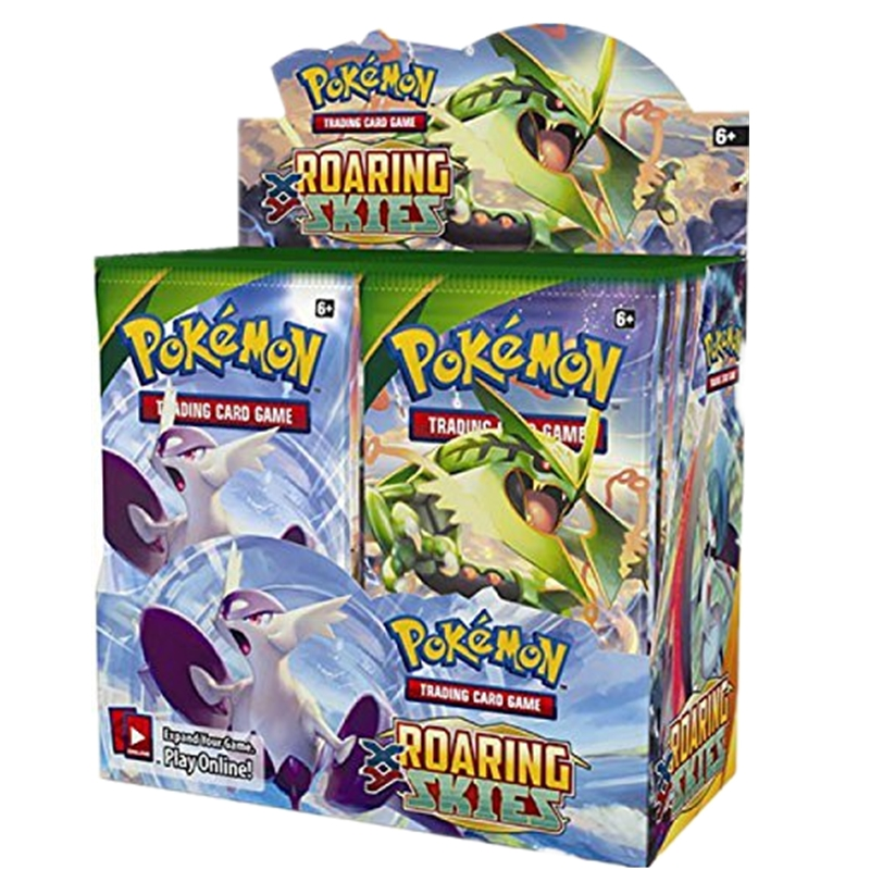 Pokemon Trading Card Game XY Roaring Skies Booster Box Trading Card Game image