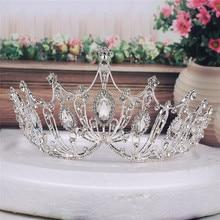 Classic Vintage Rhinestone Crystal Diadem Women Wedding Crown Bridal Tiara Headpiece Headdress Headwear Hair Accessory цена и фото