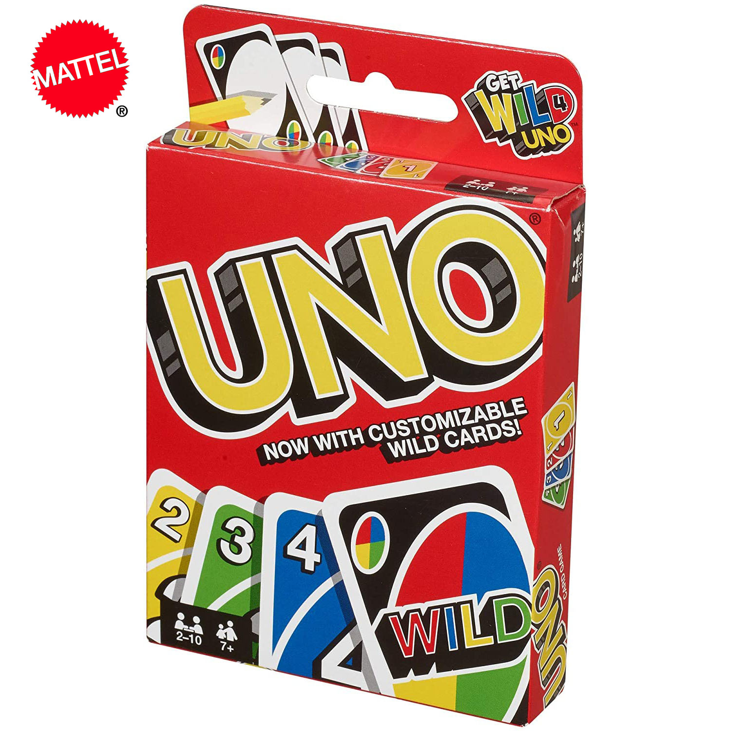 Topsale Puzzle Games Mattel Genuine UNO Family Funny Entertainment Board Game Fun Poker Playing Cards Gift Box