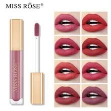 MISS ROSE – rouge à lèvres mat velours, brillant, baume à lèvres, Waterproof, couleur chair, Sexy, teinte, maquillage, cadeau pour femmes, Offres Spéciales