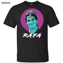 Vamos Rafa Womne Tênis Dos Homens Cobre T T Camisa EUA Aberto Preto Marinho S 5XL T-Shirt Popular Tagless