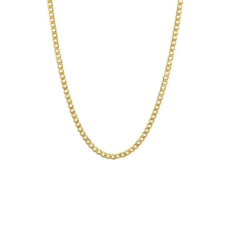 XP Jewelry -- ( 50 см x 2 мм) 24 k чистое золото цвет маленький Фигаро 1:1 цепочка ожерелья для мужчин женщин ювелирные изделия хорошее качество