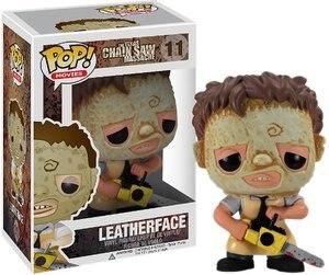 Image 1 - Funko POP Texas Massacre à la tronçonneuse: figurine en vinyle en cuir figurines jouets cadeaux