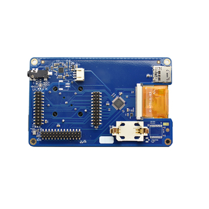 Image 4 - PortaPack קונסולת 0.5ppm TXCO עם אנטנה עבור HackRF אחד 1 MHz 6 GHz SDR מקלט FM SSB ADS B SSTV רדיו חם C1 007