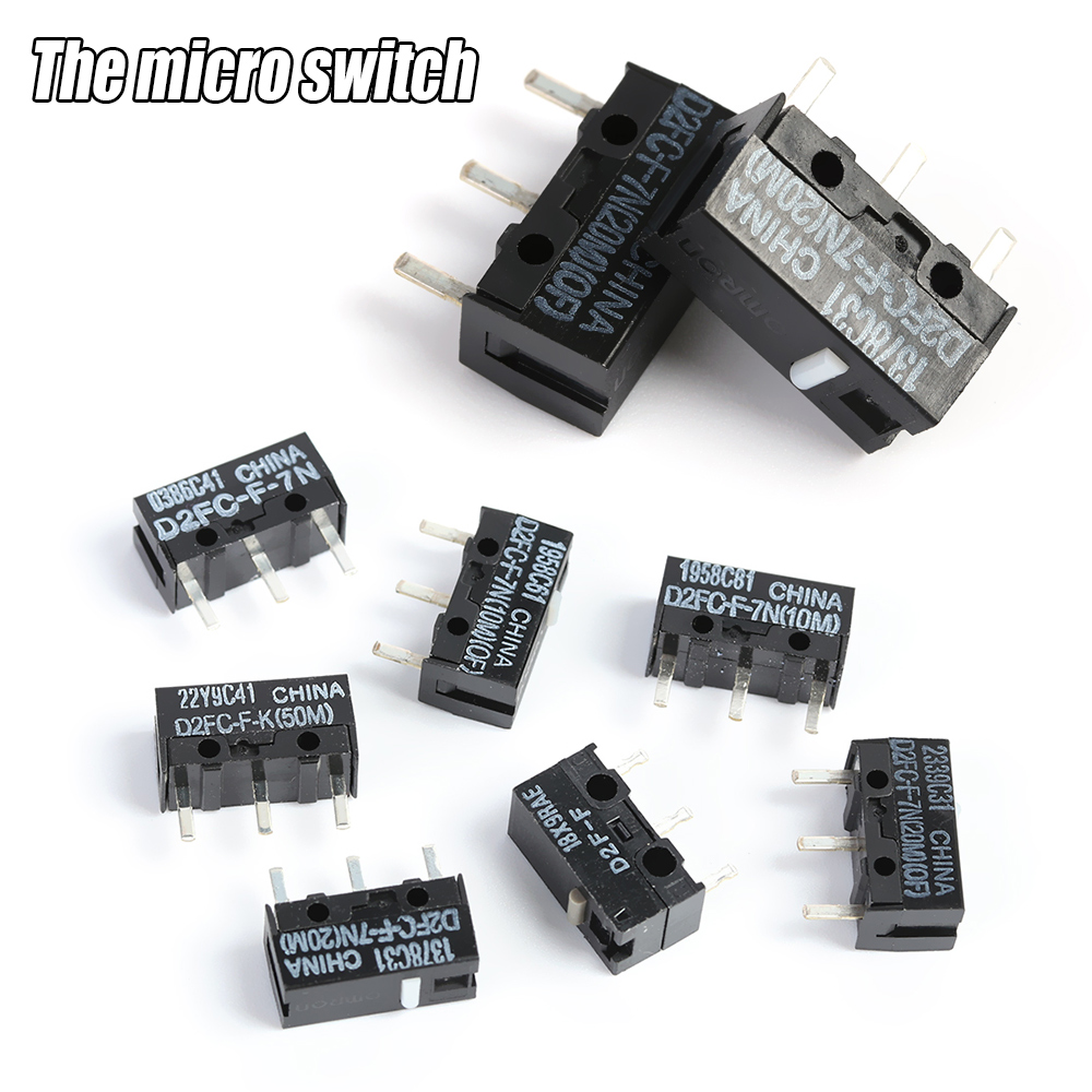 Electronic Accessories Button Classic Micro Switch D2F-J D2FC-F-7N Mouse OMRON