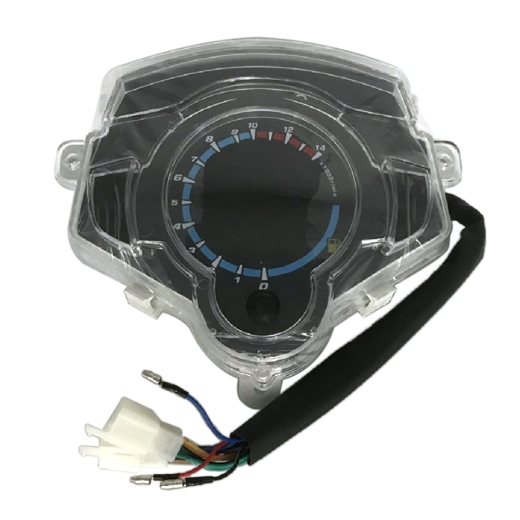 MPH/KMH LCD цифровой спидометр тахометр одометр, датчик газа, датчик уровня заряда батареи в сборе