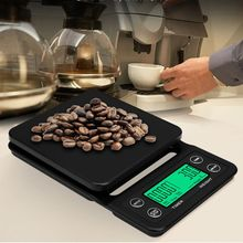 Drip-Coffee-Scale Timer Digital Electronic Protable with LCD Kitchen Scales 3KG/5KG