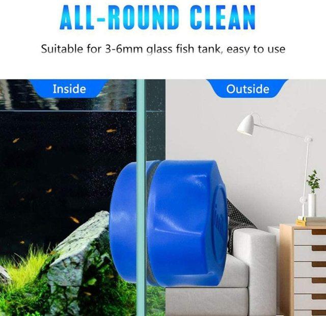 Magnetic Aquarium Cleaning Scrubber 2