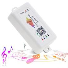 LED Controller, WS2812B WS2811 Music Sync Bluetooth Controller, iOS Android Smartphone App Control for WS2813 SK6812 SK6812-RGBW(China)