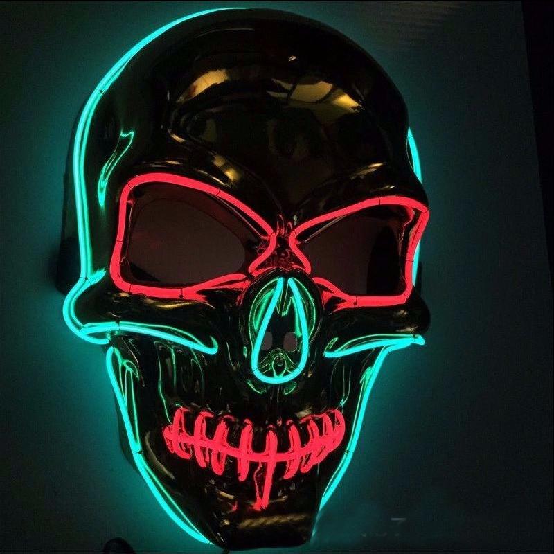 Картинки светящиеся черепа