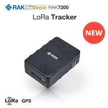 LoRa Tracker pozisyon modülü GPS Modem LoRaWAN entegre STM32L073 mikrodenetleyici SX1276 Modem şarj edilebilir anten ile RAK7200