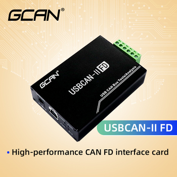 USB CAN Bus Tools CAN FD Interface Card Variable Baud Rate Electrical Isolation Level 2500V. can network expansion can isolation repeater series 2 galvanic isolation can bus interface