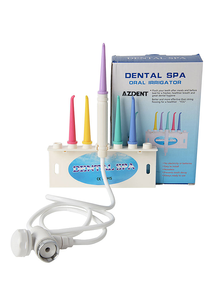 AZDENT Spa-Cleaner Irrigator Dental-Flosser Toothbrush-Cleaning Faucet-Water Interdental