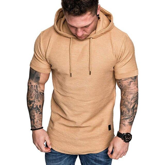 MRMT 2021 Brand New Mens Hoodies Sweatshirts Short Sleeve Men Hoodies Sweatshirt Casual Solid Color Man hoody For Male Hooded 3