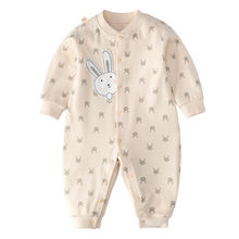 0-24M Baby's Jumpsuit Autumn New Born Baby Girl Clothes Baby Boy One Piece Outfit Cartoon Rompers Infant Clothing Roupas de bebe(China)