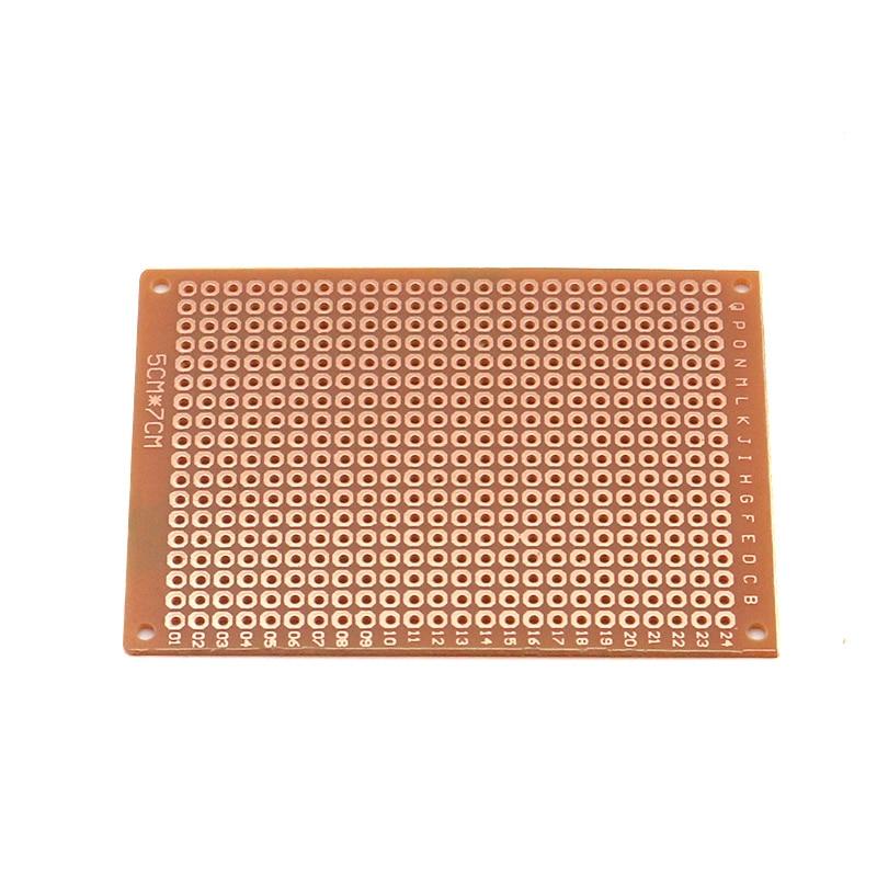 5Pcs 5*7 PCB 5x7 PCB 5cm 7cm DIY Prototype Paper PCB Universal Board