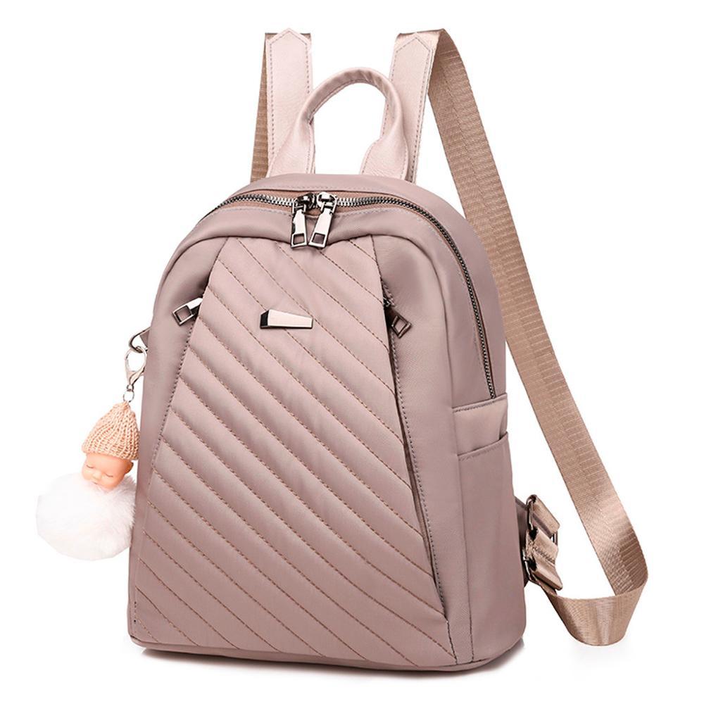 Women's Shoulder Bag Backpack Waterproof Bag Anti-Theft  Leisure Fashion Stylish Large Capacity Simple Wild Retro H1
