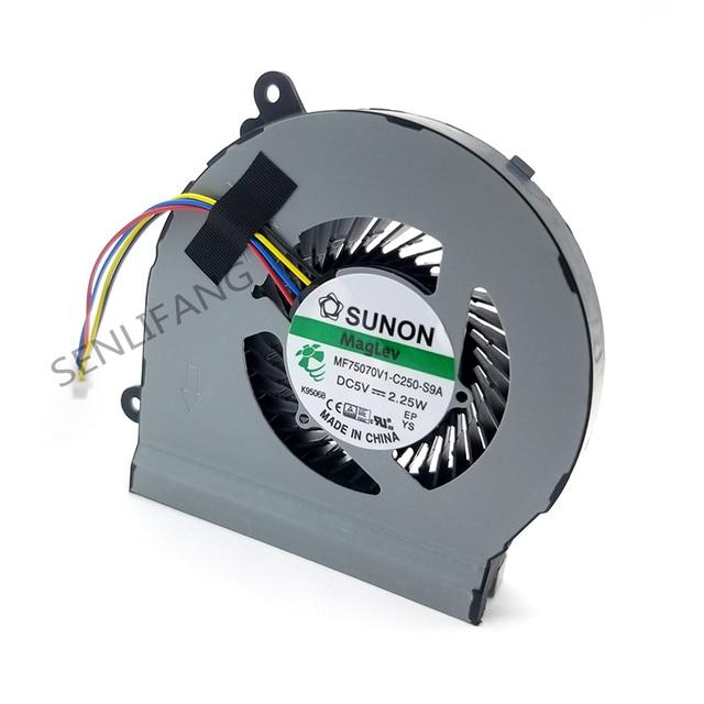 NEW for ASUS VivoPC VM62 For Suono MF75070V1 C250 S9A DC5V 2.25W 4 Pin 4Wire CPU Cooling Fan