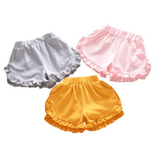 Clothing Short-Pants Lace Girls Baby Children's Elastic Kids Cotton Casual 7149-08 Sweet