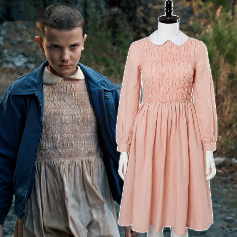 Nouveau étranger choses onze Cosplay Costumes Kawaii femmes filles robes jupe princesse fête Halloween complet robe costume