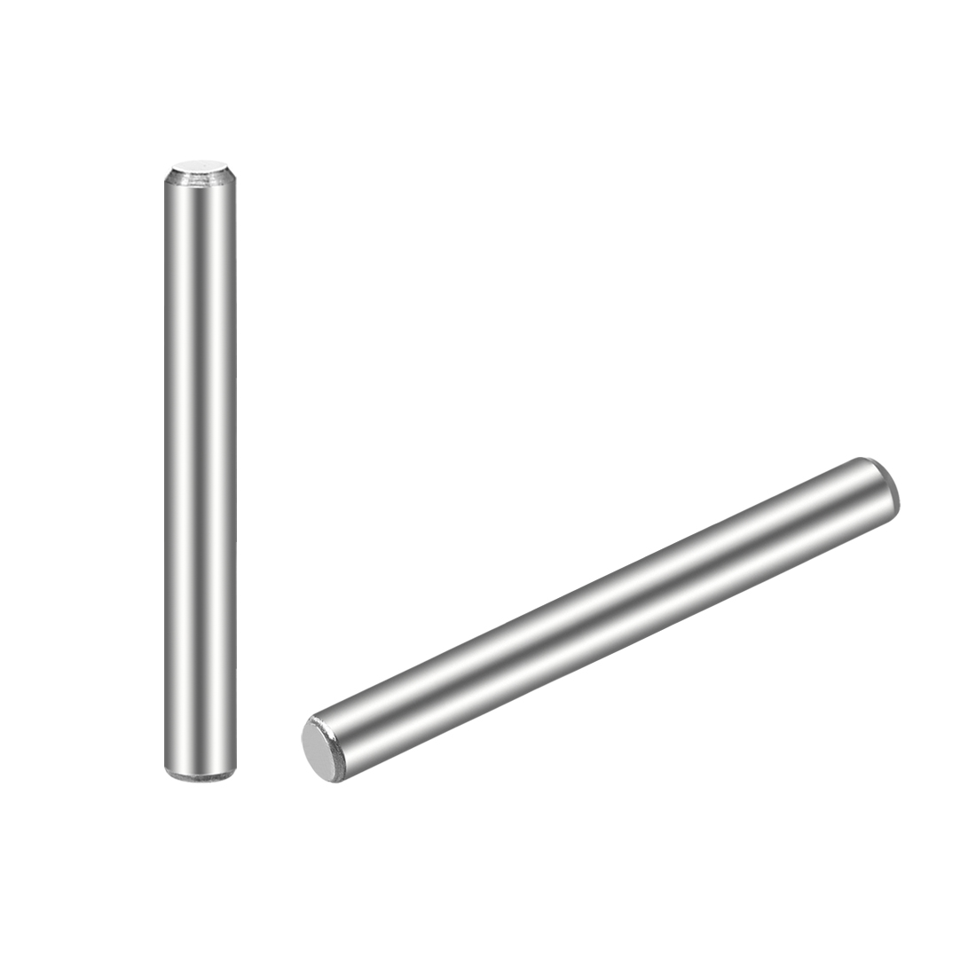 uxcell 3mm x 60mm Carbon Steel R Shaped Spring Cotter Clip Pin Fastener Hardware Silver Tone 20Pcs