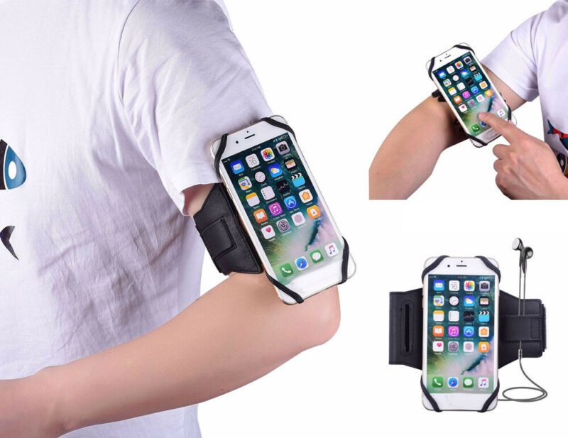 Brand New Style Universal Sports Running Riding Arm Band Solid Case For Cell Phone Holder in Phone Holders Stands from Cellphones Telecommunications