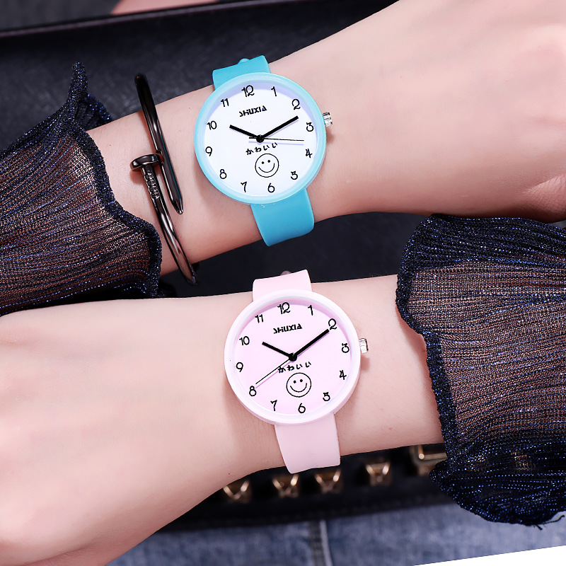 Simple Kids Watches Boys Jelly Color Boys Watches Fashion Girls Students Wristwatches Children Watch Casual Clock Silicone Watch