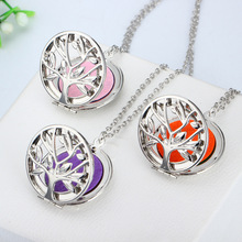 10pcss Round flower Aroma Diffuser Necklace Perfume Essential Oil Diffuser Aromatherapy Locket Pendant Necklace Women jewelry new aroma diffuser necklace vintage birdcage open cage pendant perfume essential oil aromatherapy locket pendant necklace