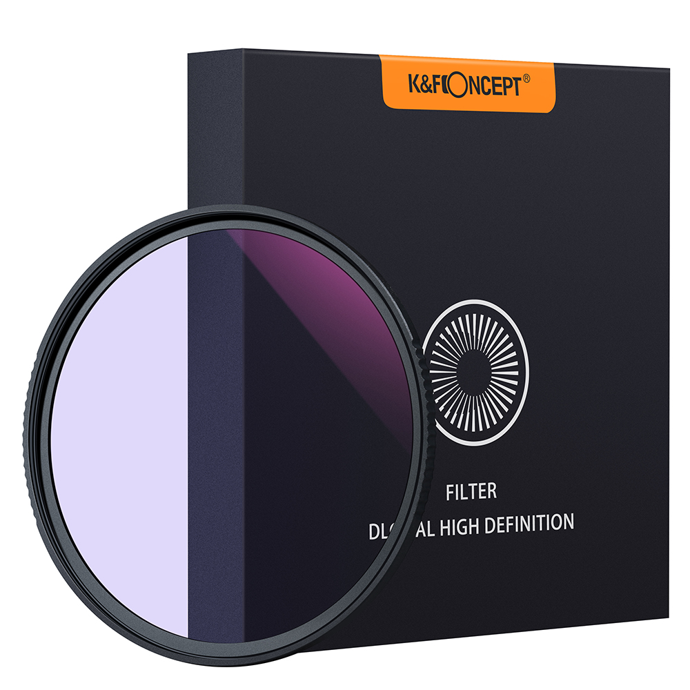 K&F Concept Clear-Night Filter 58mm 67mm 72mm 77mm 82mm Multiple Layer Nano Coating Pollution Reduction for Night Sky&Star Camer