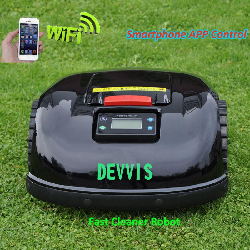 Navigation 2ah GYROSCOPE Function With Mower Gerneration Lawn Smartphone DEVVIS 13 APP Newest Robot 5th Battery Lithium E1600T