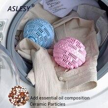 Многоразовые для стирки очищающие шарики Магические анти-обмотки одежды прибор для очищения машина молекул аниона молекул