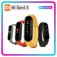 Xiaomi Mi Band 5 NFC Band 4 Bluetooth 5.0 Waterproof Miband5 Smart Bracelet 4 AMOLED Screen Heart Rate Fitness Tracker Mi Band