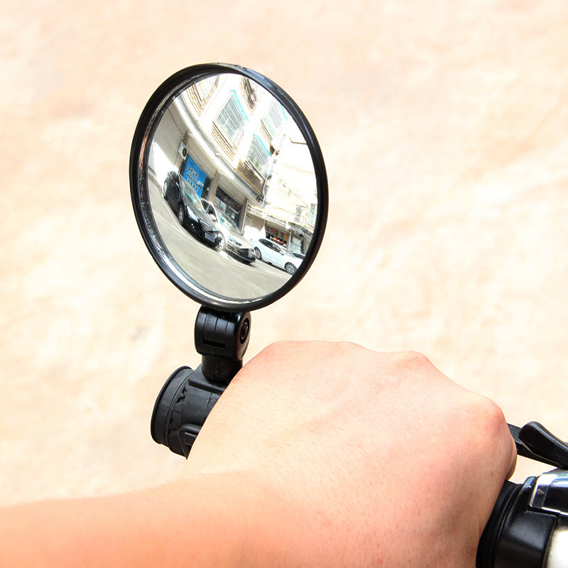 Bike Rear Mirrors 360 Degree Rotation Bicycle Rearview Mirrors Suitable For Mountain Road Bike Handlebar