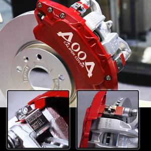 Image 4 - AOOA Aluminium Bremsscheibe Sattel Abdeckung Für Hyundai IX25 Elentra Sonata Veloster