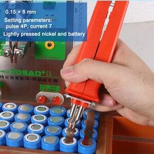 Image 5 - HB 70B スポット溶接ペンハンドル 18650 リチウム電池用生産 Diy パルス溶接ペンリモート溶接機大サイズバッテリーパック