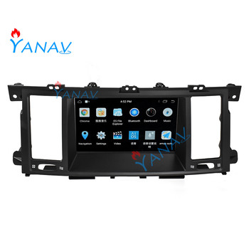 Android car radio audio player vertical screen For-Infiniti QX80 2013-2017 Tesla style stereo car multimedia radio DVD player image