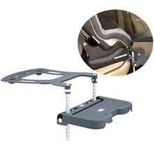 Child Car Safety Seat Stroller Footrest Fasten Support Baby Kids Foot Pedal Rest Holder Adjustable Leg Rest Folding Footboard
