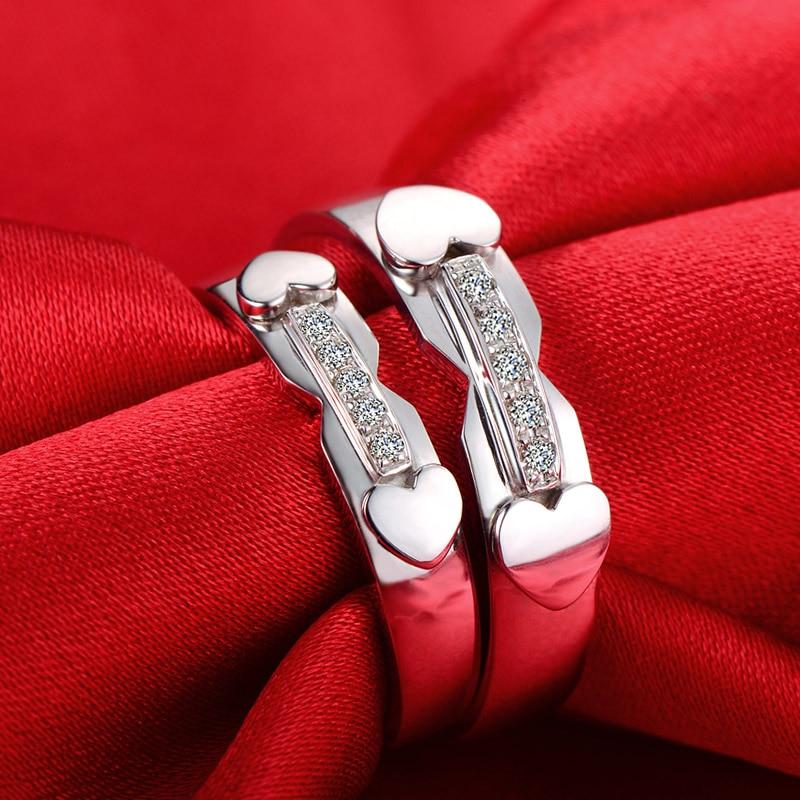 18ct or diamant Couple ensemble anneaux de mariage bagues de fiançailles pour hommes femmes livraison DHL gratuite