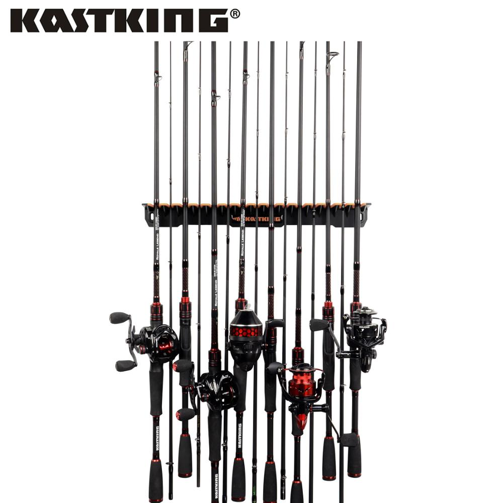 KastKing Patented V15 Vertical Fishing Rod Holder Store 15 Rods Fishing Rod Rack