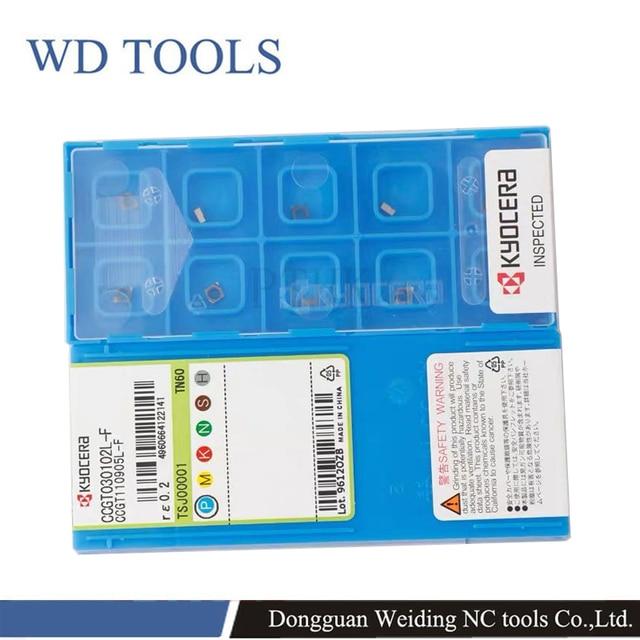 Herramientas de inserción de alta calidad, WD, CCGT TN60, acero, procesamiento, carburo, inserto, torno, molino, Herramientas CNC