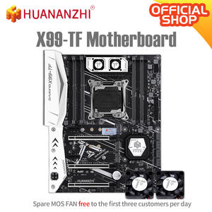 HUANANZHI X99 TF X99 Motherboard Intel XEON E5 LGA2011-3 All Series both DDR3 DDR4 RECC NON-ECC memory NVME USB3.0 ATX Server