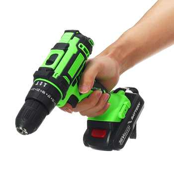 3 in 1 36V Electric Drill Screwdriver Cordless Screwdriver Two-speed With Rechargeable Lithium Battery Handheld Power Tools