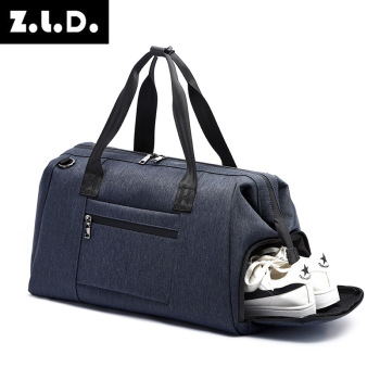 Fashion Leisure Nylon Men And Women Travel Bag Multifunction Waterproof Lndependent Shoe Warehouse Luggage Storage Bag Handbag fashion african shoe and bag set for party italian shoe with matching bag new design ladies matching shoe and bag italy mvz1 12
