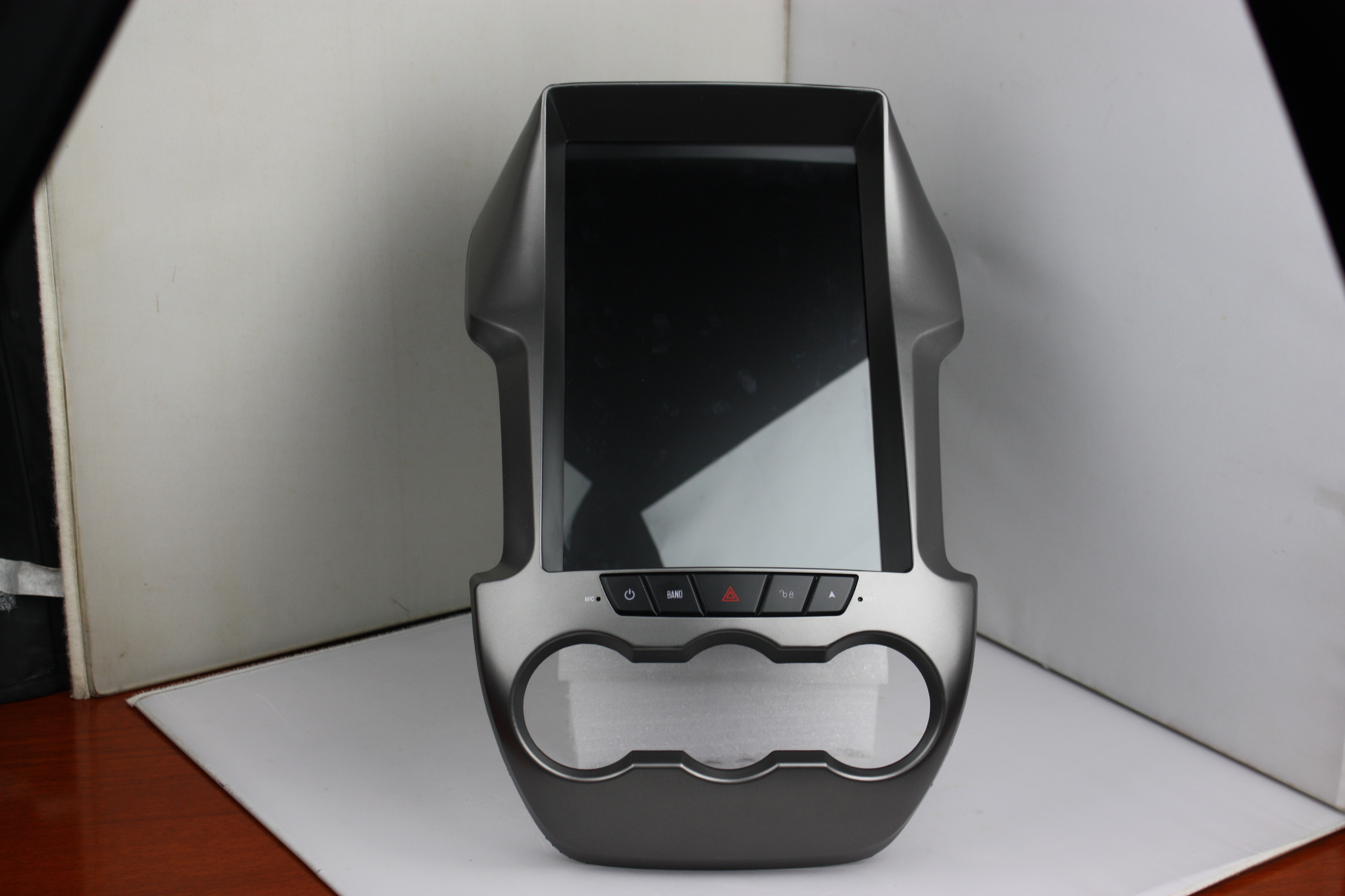 Android 9.0 <font><b>12</b></font>.1inch IPS Screen Tesla style Car GPS Navigation For Ford Ranger car radio player bluetooth multimedia PX6 image