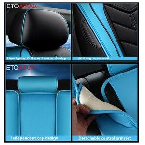 Image 5 - Copertura completa Eco auto in pelle sedili Coperture DELLUNITÀ di elaborazione di Cuoio Seggiolino auto Coperture per VW polo beetle golf golf plus jetta scirocco passaat