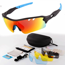 Bicycle Glasses Cycling Polarized Sun Glasses Outdoor UV400 Bike HD Sunglasses Men Women Sports Goggles 5 Lens Eyewear Gafas цена 2017